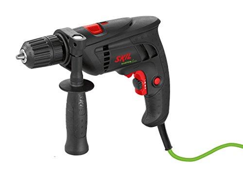 Skil Schlagbohrmaschine 6110 AA (1,7 A, 10 mm, Drehzahlvorwahl, 6 m Kabel,Tiefenanschlag)