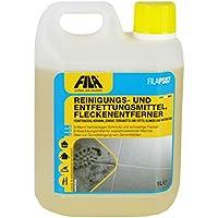 Fila PS87 Detergente, quitamanchas, decapante para barro, gres porcelánico, cerámica esmaltada, mármol, piedras no pulidas, cemento, linóleo, PVC, clinker 1 litre