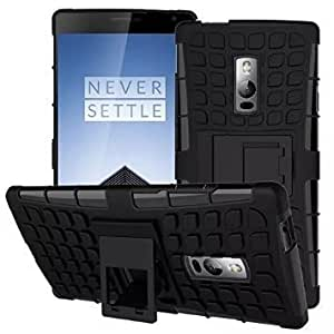 CellwallPRO Back Cover Case For One Plus Two OnePlus2 - Black Color