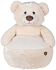 Famosa Softies - Asiento de Peluche Oso Boutique, Color Blanco 760014890
