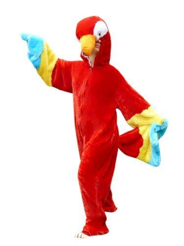 F32 M Papagei Kostüm Fasching Karneval Kostüme