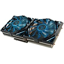 GELID SOLUTIONS ICY VISION A VGA 02-02 Kuehler fuer AMD HD5850 bis HD7970 5 Heatpipes 2 x 92mm Luefter CrossFire SLI kompatiebel
