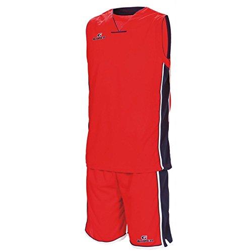 gimer Kit 2/229, basket mixte Rosso Blu