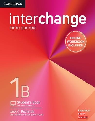 Interchange Level 1B Student's Book with Online Self-Study and Online Workbook