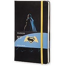 Moleskine Taccuino Batman Contro Superman Edizione Batman, Large, Nero