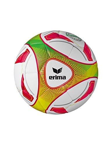 Erima Hybrid Lite 290 Fußball, weiß/Rot, 5 -