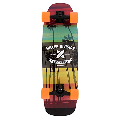 """Miller SURFSKATE 31.5"""" KIRRA S01SS0000 Surfskate Skateboard"""