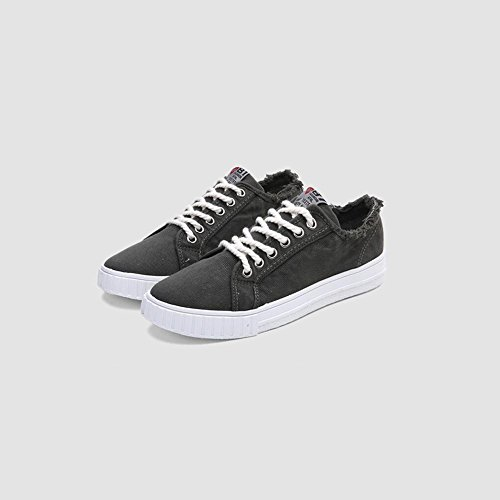 6ea802c15751 Chaussures XUEQIN Baskets en toile Adults Classic Low-Top Sneaker pour homme