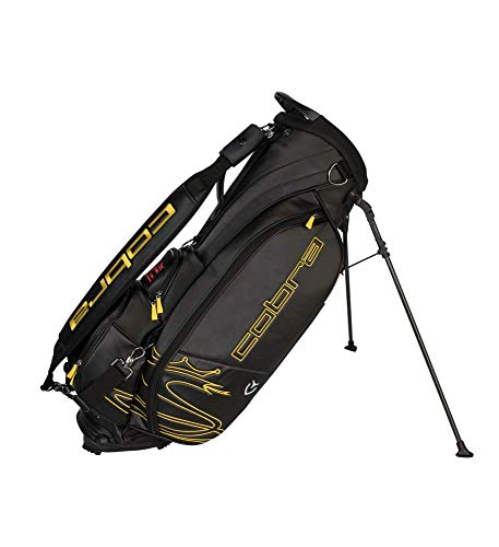 Cobra Golf 2019 Tour Crown Standbag, Herren, Tour Stand Bag, schwarz - Bag Stand Cobra