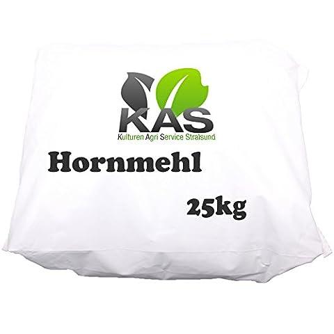 KAS Hornmehl (25kg) Naturdünger Gartendünger organischer Stickstoffdünger