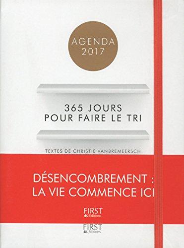Agenda 2017, 365 jours pour faire le tri