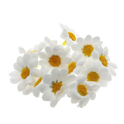MMRMMini-Kunstseide-GänseblümchenSonnenblumenKöpfe fürHochzeitsfest-Start1 Packung (Sonnenblumen-blütenblatt Stirnband)