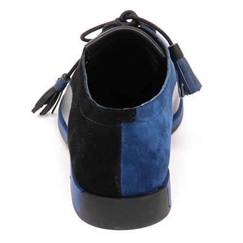 Camper D8606 (Without Box) Scarpa Donna Twins Shoe Woman Blu/Nero