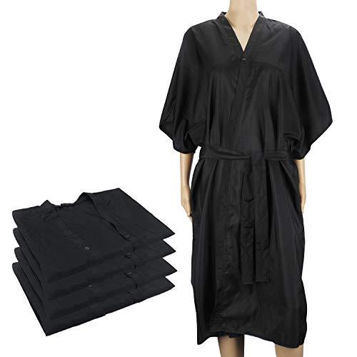 4pcs batas negras de kimono