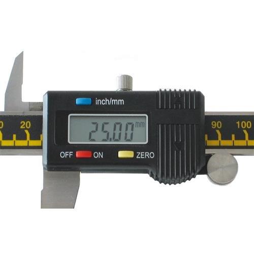 Digitaler Meßschieber Präzisions Schieblehre 200mm Auflösung 0,01mm LCD Anzeige