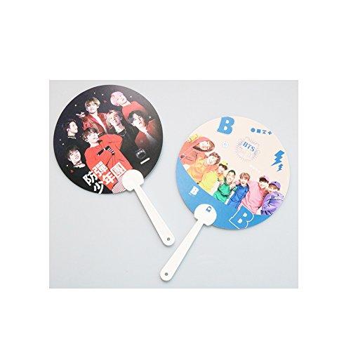 bts-kpop-foto-plastica-portable-hand-fans-pezzi