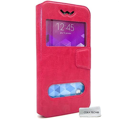 Funda Case QILIVE Smartphone Q7 5 - Color Rosa - CEKATECH®