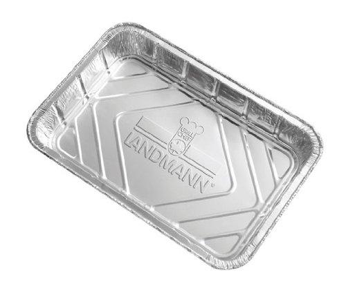 Landmann Alutropfschalen, Silber, 10 Stk