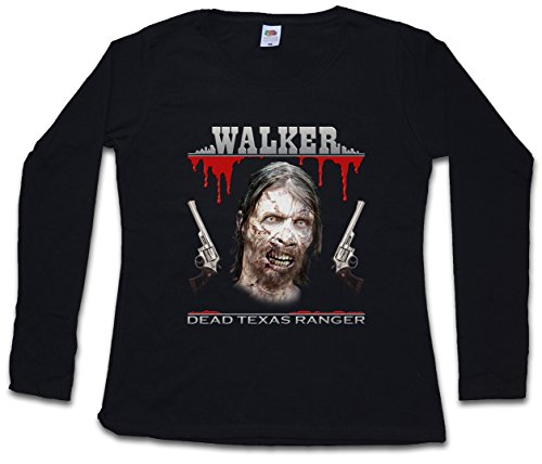 Urban Backwoods Dead Texas Ranger Women Long Sleeve T-Shirt - Daryl Dixon The Walking Chuck Norris Dead T-Shirt Sizes S - 5XL
