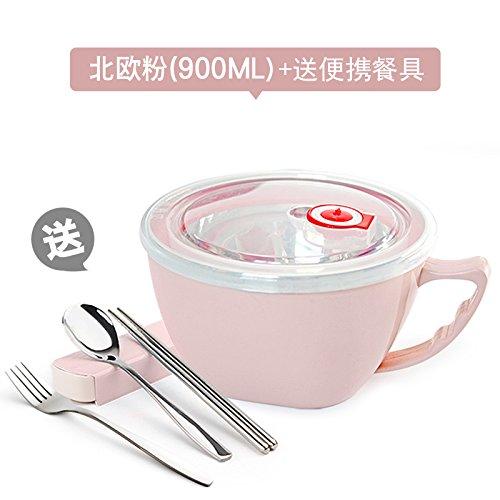 BGmdjcf Acciaio inossidabile 304 ciotola di noodles
