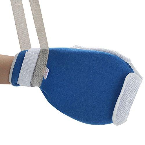 Fausthandschuh zur Fingerkontrolle, atmungsaktiv, mit Innenschutz, Handschuh zum Schutz vor Extubationen, Kratzschutz, Hilfswerkzeug in der Pflege.