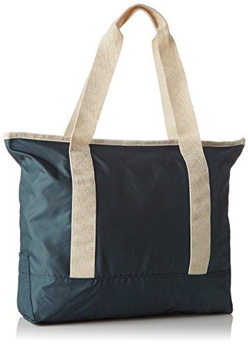 Bensimon Zipped Tote, Sac porté épaule Vert (Vert Foncé)