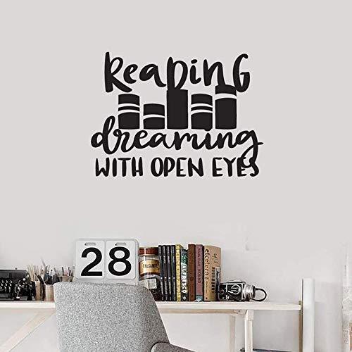 Zoom IMG-3 vinile adesivo lettura citazione leggi