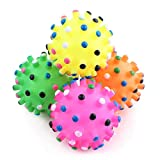 GHUOSKKL Squeaky Indestructible Tire Toy Dog Natural Rubber(may Vary In color)-D