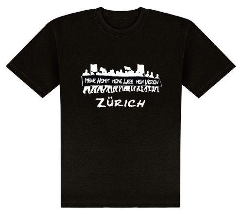 World of Football T-Shirt Meine Heimat.Zürich - S