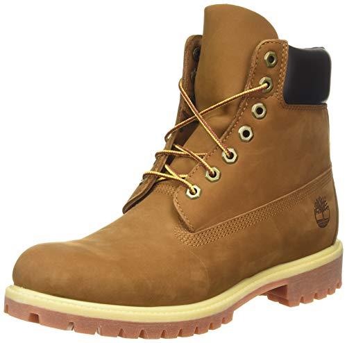 Timberland Herren 6 Inch Premium Stiefel, Braun (Rust Nubuck), 42 EU