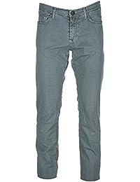 Versace Jeans pantalones de hombre nuevo slim pocket tiger verde