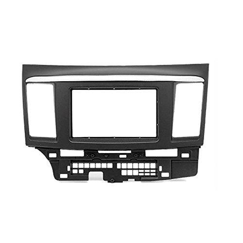 carav 08-006 Doppel DIN Radio Dash Installation Trim Kit für Mitsubishi Lancer X, Galant Fortis / PROTON INSPIRA Radioblende - Trim Kit