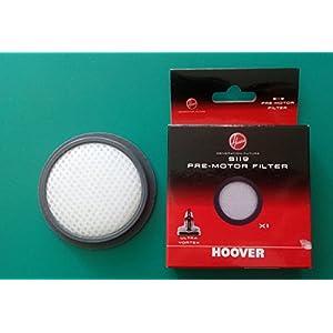 Hoover 35601675 Pre-Motor Filter, Plastic, Black, White