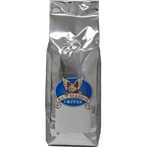 San Marco Coffee Flavored Ground Coffee, Swiss Chocolate Almond, 1 Pound
