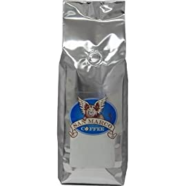 San Marco Coffee Flavored Ground Coffee, Vanilla Raspberry, 1 Pound