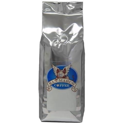 San Marco Coffee Flavored Ground Coffee, Vanilla Raspberry, 1 Pound