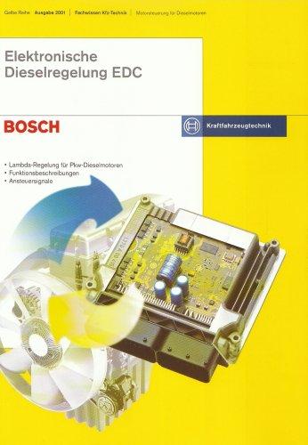 Elektronische Dieselregelung EDC: Lambda-Regelung für Pkw-Dieselmotoren - Funktionsbeschreibungen - Ansteuersignale