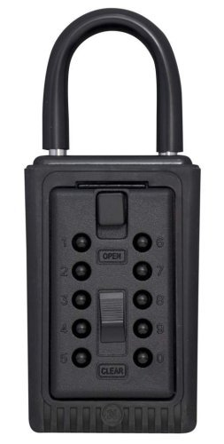 Kidde AccessPoint 001406 KeySafe 3-Key Portable Push Button Key Safe Box, Black by Kidde - Portable Push-button