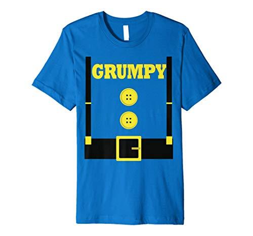 Funny Grumpy Halloween-Kostüm T-Shirt Geschenk Neuheit ()