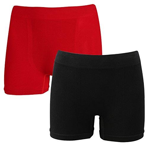 Boxershorts 2 Pack Mens Unterwäsche Bambus & Cooper Nahtlose Boxer