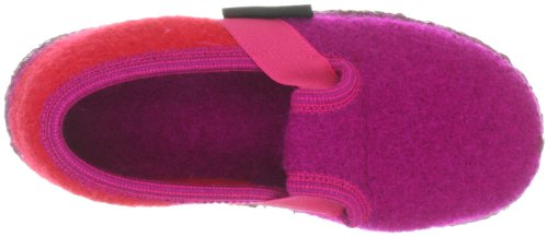 Giesswein Turnberg, Chaussons mixte enfant Rose (375)