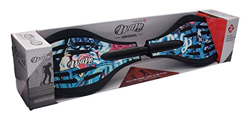 "Streetsurfing Street Surfing the Wave G1""-Props Waveboard, Blue, M"