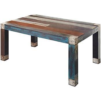 GOA 3515 Esstisch, Holz, 100 x 160 x 77 cm, bunt: Amazon.de: Küche ...