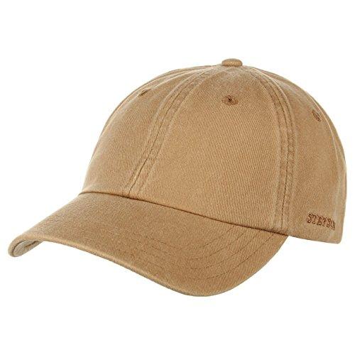 rector-baseball-cap-stetson-cotton-cap-berretto-sportivo-taglia-unica-beige