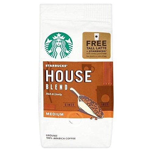 Starbucks Hausmischung Kaffee Boden 200g