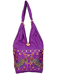 Womaniya Women's Shoulder Bag (Purple) (Woman-954)