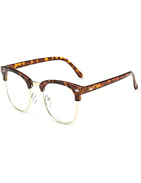 Yefree Gafas bloqueadoras de Blu-ray Gafas antifatiga Lentes de lentes transparentes