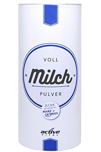 ACTIVEVITAL Pures Voll-Milch-Pulver | Regional Österreichische Qualität | 750g
