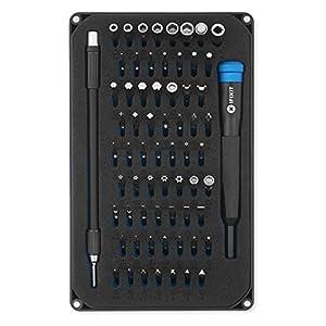 iFixit Mako Precision Bit Set, set di punte da cacciavite di precisione, con 64 punte per cacciavite (4 mm), per… 41rUu6vgSwL. SS300