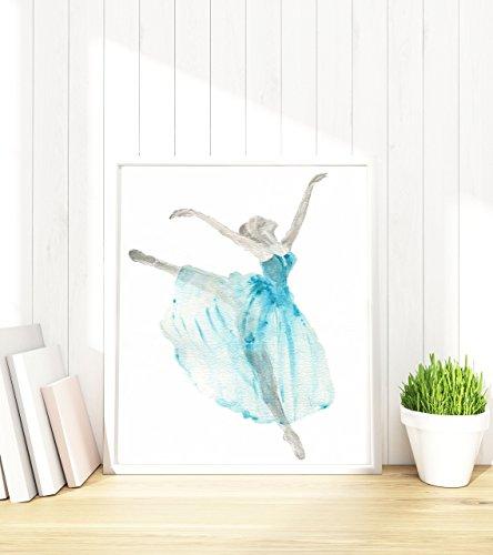 ballerina-nursery-poster-dance-presents-for-girls-dancing-wall-art-ballet-pictures-print-her
